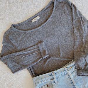 Madewell Long Sleeved Blouse sz xs